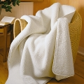 Bed Blankets ~ Natural Merino Wool ~ Sondrio