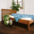 Piano Klassik Bed with slatted headboard