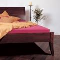 Piano Immer Bed with solid headboard