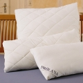 Organic Merino LambsWool Pillows - Quilted Sateen Covers