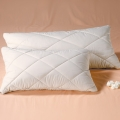 Natural Latex Flakes Pillows - Quilted Percale Covers