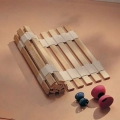Slat Bed Base ~ Ash Wood ~ Roll Out Batons