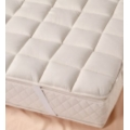 Cesena Deep Mattress Pads - Organic Merino LambsWool - Elasticated Straps