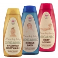 Beaming Baby Organic Baby Lotion, Shampoo and Bubble Bath