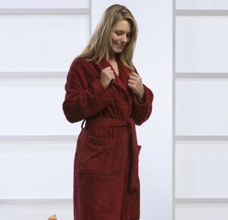 Natural Home Products - Terry Cotton Dressing Gown | Luxury Dressing ...