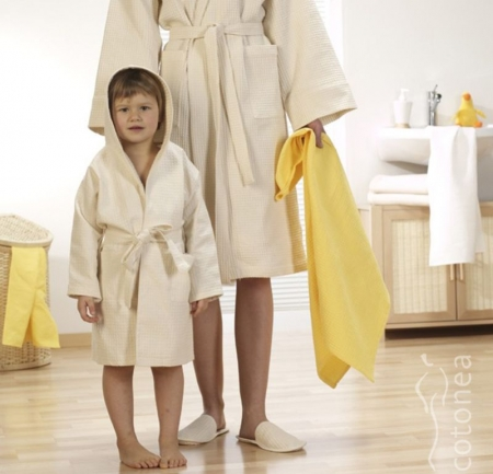 Natural Home Products - Lightweight Dressing Gowns   Waffle Weave ...