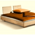 Titiano Bed in Beech