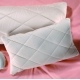 Organic Camel Hair Down Pillows - Quilted Sateen Covers