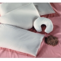 Organic Spelt Husk Pillows - Percale Covers