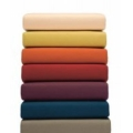 Brushed Cotton Sheets - Flannel Fitted Sheets - 14 Intense Colours - Organic Cotton