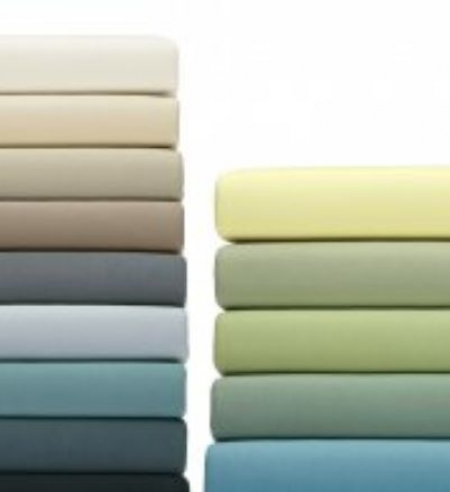 Jersey Knitted Sheets   Fitted Sheets With Stretch   26 Subtle Colours    Organic Cotton