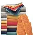 TOWELS - EXQUISITE - Bath Sheets and Bath, Hand and Guest Towels - Waffle Weave  - Organic Cotton