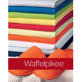 TOWELS - PIQUE - Bath, Hand and Guest - Waffle Weave -  Organic Cotton