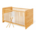 Pinolino Natura Cot Bed With Wheels